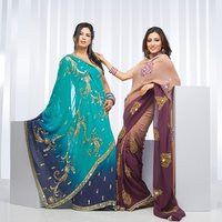 Sesigner Embroidered Bridal Sarees