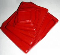 Plastic Rectangular Caps