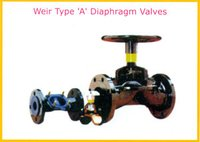 Weir Type 'A' Diaphragm Valves