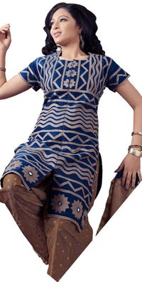 Dark Blue Ladies Kurta