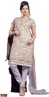 Golden Beige Ladies Kurta