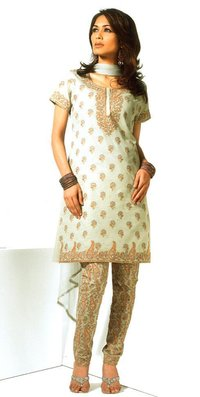 Pearl Gray Color Ladies Suits