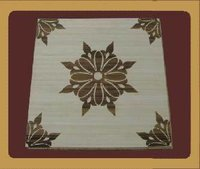 Rectangular Bamboo Parquet Flooring