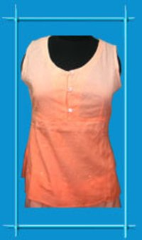 Two Tone Ladies Long Tops