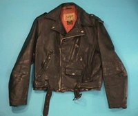 Real Genuine Pure Leather Motorcycle Jacket