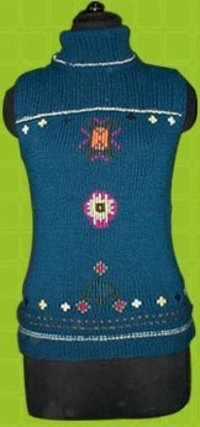 Hhand Knit Ladies Pullover