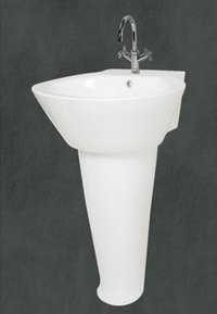 Ethnic Shape Wash Basins With Pedestal