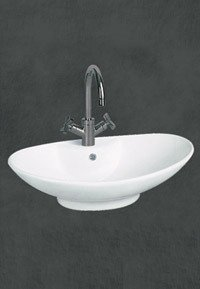 Ethnic Oval Shape Art Wash Basins