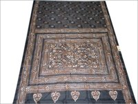 Silk Kantha Allover Saree
