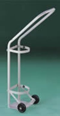 Push Type Ward Care Cylinder Trolley