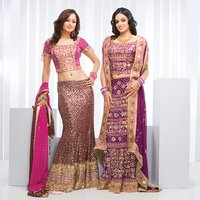 Fully Embroidered Ladies Ghagra Choli
