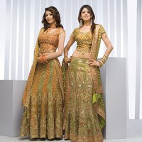 Fully Embroidered Ladies Lehenga