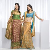 Fully Embroidered Lehenga