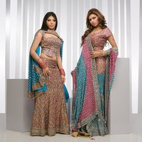 Fully Embroidered Designer Lehenga