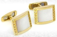 Gold Cufflinks