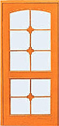 Ten Panel Glass Doors