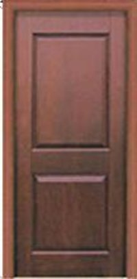 Two Panel Solid Wood Doors