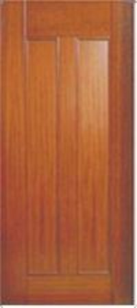Ethnic Solid Wood Panel Doors
