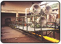 Oil & Gas Burner Boom Assembly
