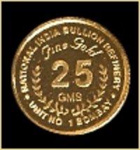 Circular Shape Gold Coins