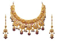 Heavy Gold Necklace Set