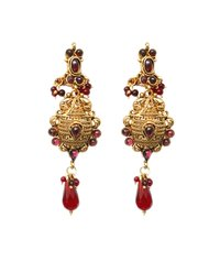 Ladies Kundan Earrings