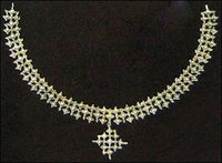 Trendy Diamond Necklace