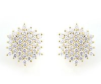 Ladies Diamond Ear Tops