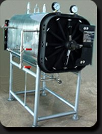 Horizontal Rectangular High Pressure Steam Sterilizer