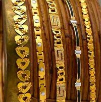 Aesthetic Gold Bracelets