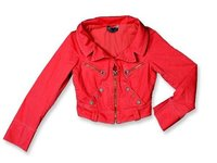 Red Colour Ladies Jackets