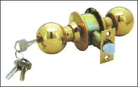 Polish Brass Heavy Duty Cylindrical Locks