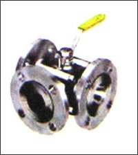 Steel Three Way Ball Valve