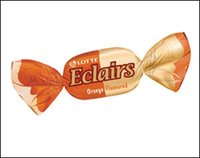 Lotte Eclairs Orange Toffee