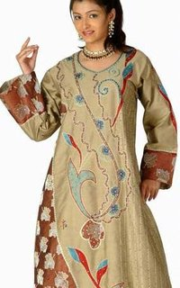Designer Embroidered Kaftans