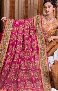 Fully Embroidered Ladies Sarees