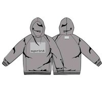 Mens Hooded Sweat Shirt