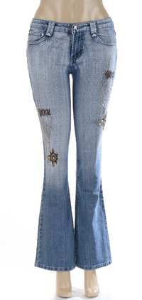 Ladies Stretch Jeans Pant