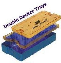 Double Dacker Sterilization Trays