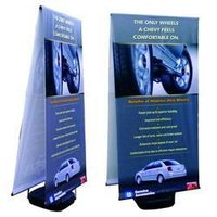 Double Sided Outdoor Banner Stands