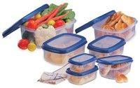 Seal 'N' Store Rectangular Shape Containers