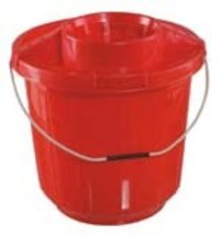 Super Deluxe Plastic Buckets With Mop