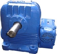 Double Reduction Worm Gear Box
