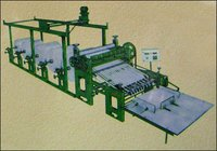 Heavy Duty Simplex Automatic Paper, Foam & Board Roll To Sheet Cutting Machine