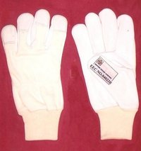Palm Grain Leather Gloves
