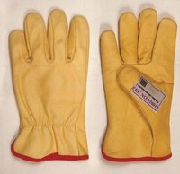 Grain Yellow Driver Gloves