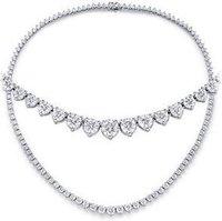 Ladies Diamond Classic Necklaces