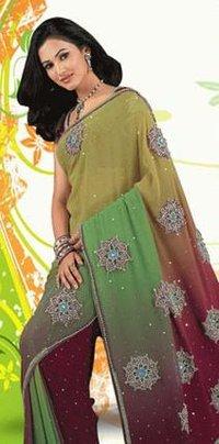 Designer Shadded Sarees