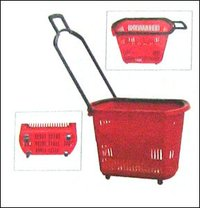 Castor Basket Trolley