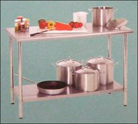 Mini Table With Undershelf